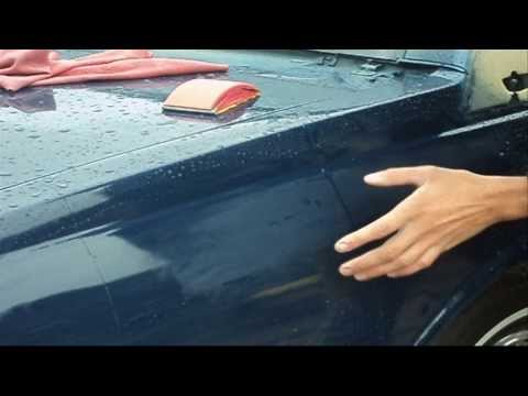 how to smooth out clear coat on car
