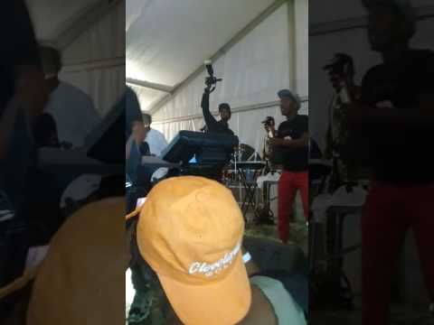 OkMalumCoolCat performing live at Indabila Car Wash in Vosloorus. 31 March 2017.