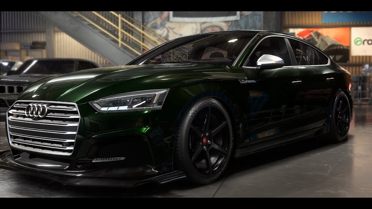 Need For Speed PayBack AUDI S5 SportBack - YouTube