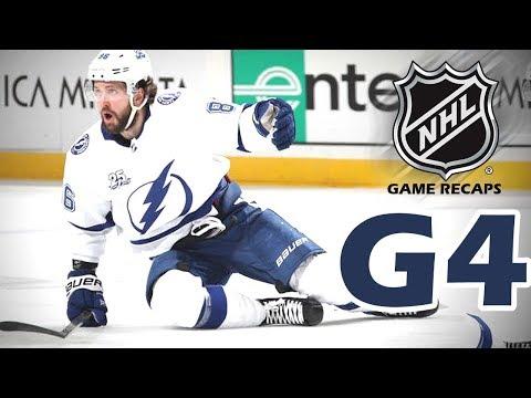 Tampa Bay Lightning vs New Jersey Devils. 2018 NHL Playoffs. Round 1. Game 4. 04.18.2018 (HD)