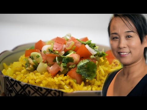 Turmeric & Lemon Rice - Chinese Style