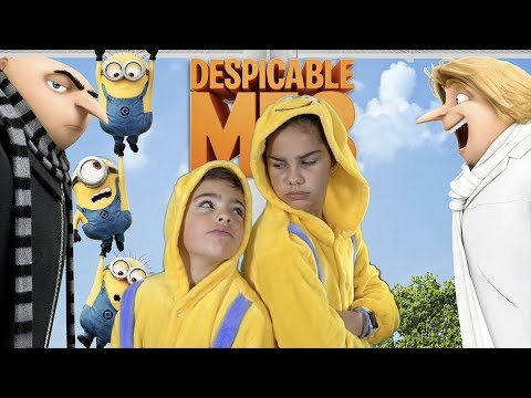 Thumbnail: Family Fun and Sibling Rivalry Thanks to Despicable Me 3 | Grace's Room
