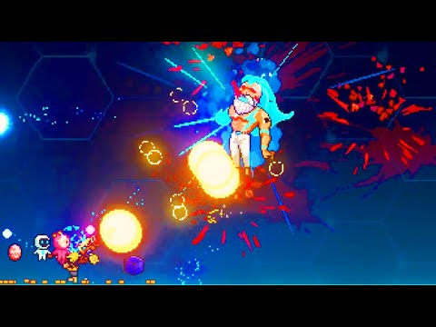 Doing So Much Damage That Bosses Barely Exist in Neon Abyss |