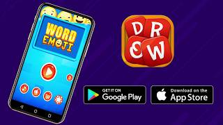 Word Emoji - Word Puzzle Game on Android and iOS