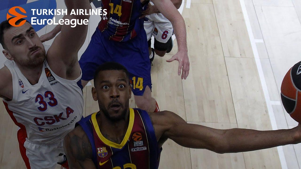 Calathes, Higgins lead Barcelona past CSKA