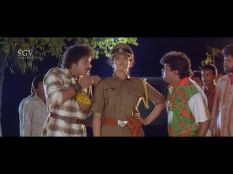 Ravichandran & Tennis Krishna Scares and Snatch Gold | Cheluva Part-2 | Blockbuster Kannada Movie