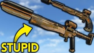 Why the Pipe Guns are Stupid - Fallout 4