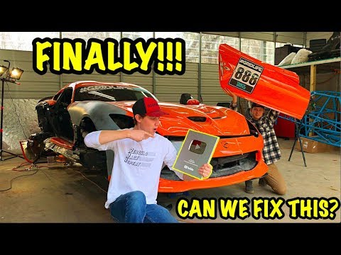 Rebuilding A Wrecked 2014 Dodge Viper TA TIME ATTACK PART 7