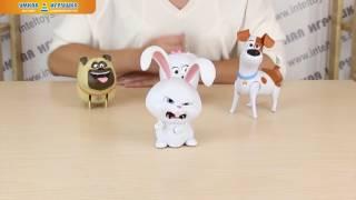 Игрушки со звуковыми эффектами «Тайная жизнь домашних животных»