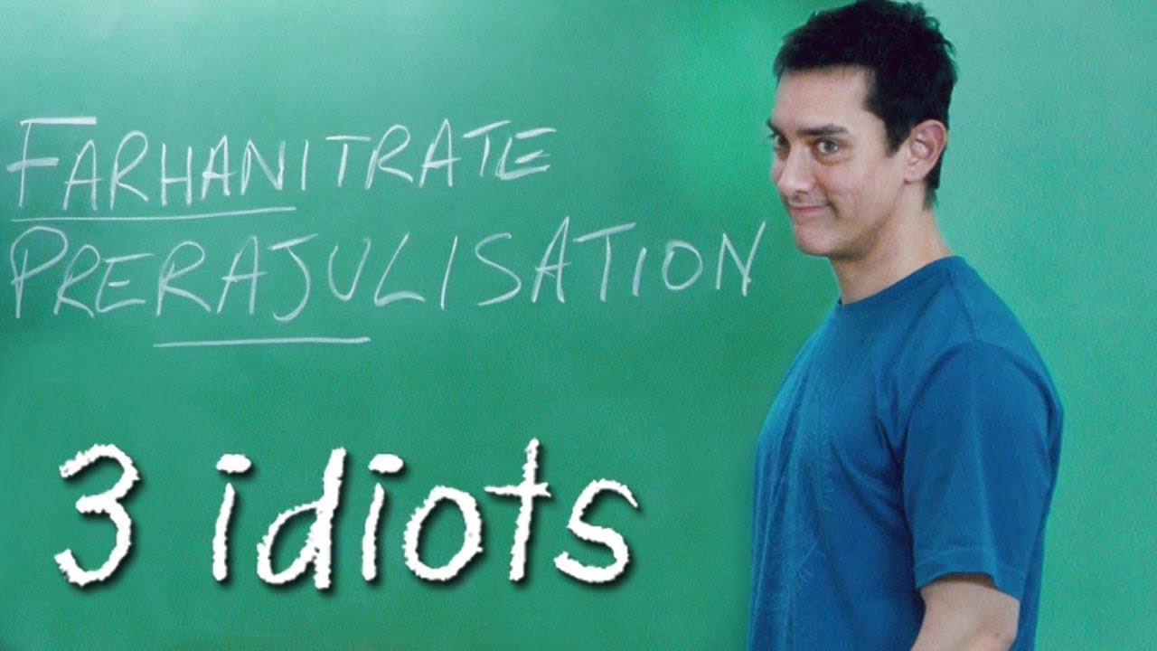 Download Aamir Khan as Professor   3 Idiots - Comedy Classroom Scene