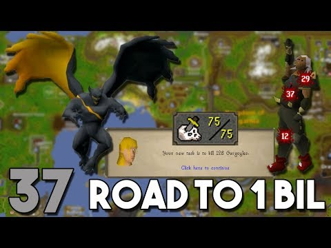New Gargoyle Boss Coming Soon!! I am Almost Ready - Road to 1 Bil From Nothing - Ep 37 [OSRS]