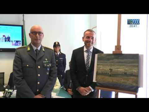 Napoli: l'Italia riconsegna 2 Van Gogh all'Amsterdam Museum trovati in casa del boss Imperiale