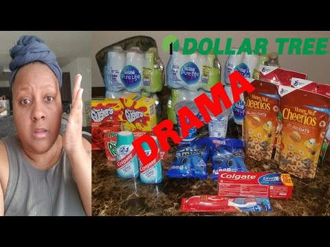 DRAMA COUPONING AT THE DOLLAR TREE | EMPLOYEE EMBARASS ME IN FRONT OF THE WHOLE STORE