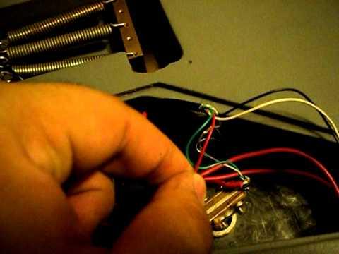 Ibanez Rg 320 Dx Wiring Diagram 3 Way Power To Switch Dimarzio Pickup Youtube