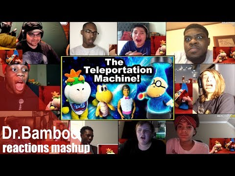 SML Movie: The Teleportation Machine! REACTIONS MASHUP