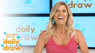 Daily Draw $10,000 Winner with Trish Suhr | July 13th, 2018 | Game Show Network