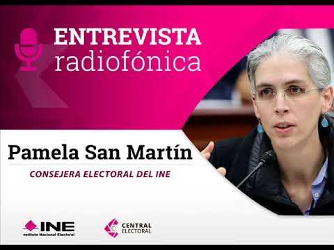 Entrevista de Pamela San Martín con Carmen Aristegui sobre pérdida de registro del PES