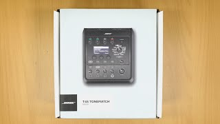 Bose T4S ToneMatch Mixer - Unboxing & First Look