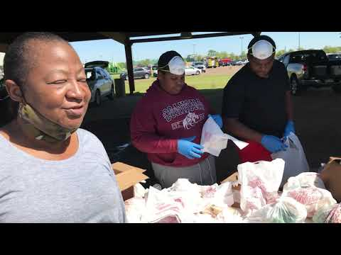 Care Station Feeds The Hungry In Clarksdale, Coahoma County, Mississippi