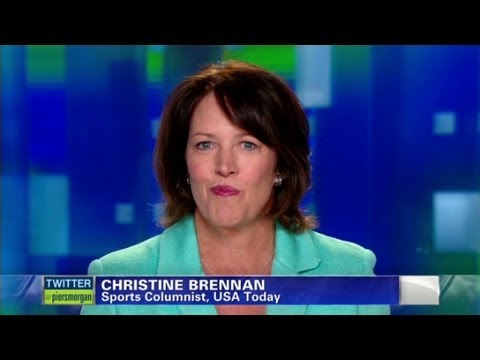 Sports Columnist Christine Brennan on Lance Armstrong: 'He gave up'