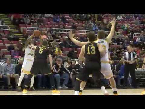 NKU Men's Basketball: Horizon League Championship Highlights 3/7/17