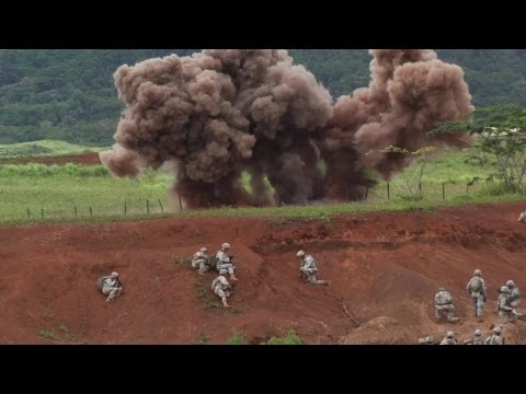 3rd Brigade Combat Team in Live Fire Exercise