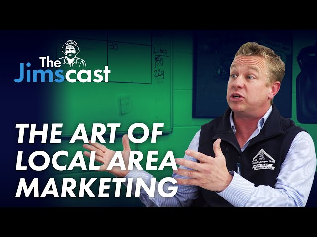 #JIMSCAST Sam Robertson speaks to Joel Kleber about Local Area Marketing and Strategies