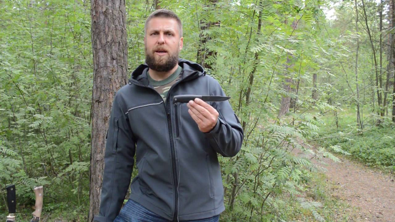 Нож ФИНСКИЙ Кизляр. Уличный тест