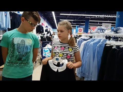 Shopping к школе в брендовых магазинах. Многодетная семья#магазинодежды#покупки#обзор