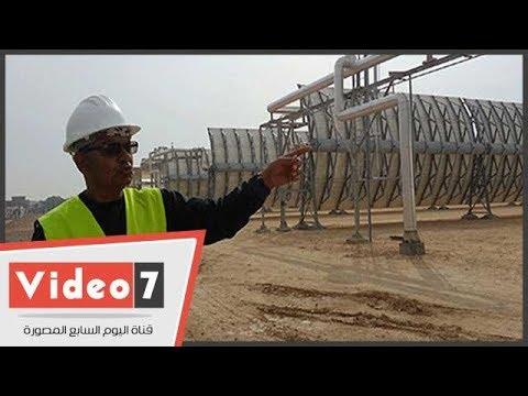محطة الخلايا الشمسية ببرج العرب..الأولى فى العالم لإنتاج ميجا وات كهرباء  - 23:21-2018 / 2 / 19