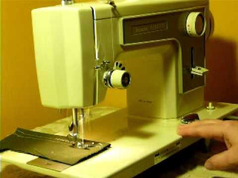 KENMORE MODEL 40 SEWING MACHINE YouTube Enchanting Kenmore 28 Sewing Machine