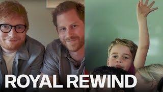 Royal Rewind: Ed Sheeran Visits Prince Harry; Prince George Celebrates Victory
