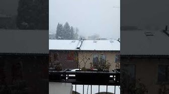 Continue snowing here in lugano switzerland / weather here in switzerland dec 13 2019