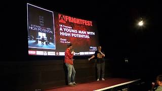 A YOUNG MAN WITH HIGH POTENTIAL (2018) FrightFest UK Premiere Introduction with Linus de Paoli