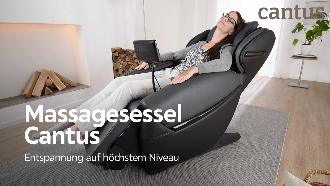 massagesessel cantus m bel bei xxxlutz youtube. Black Bedroom Furniture Sets. Home Design Ideas