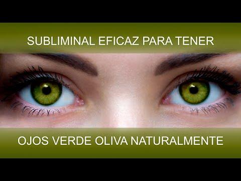 ojos verde oliva transformaciÓn natural spersubliminal