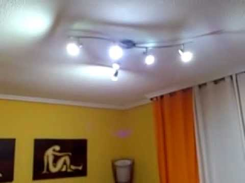 Iluminaci n led sal n 18 m2 youtube - Luces led para salon ...
