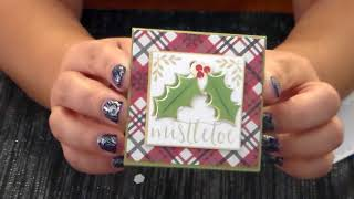 3x3 Christmas Cards