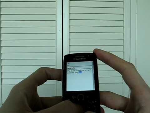 BlackBerry Pearl 3G 9100 Unboxing and Impressions