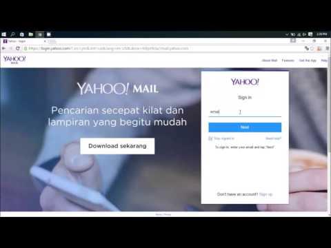 Cara Masuk ke Email Yahoo
