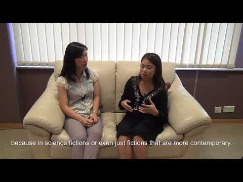 Overseas Scholarship Awardee Carissa Ma in conversation with Prof. Evelyn Chan
