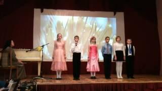 песня снежинка- ансамбль