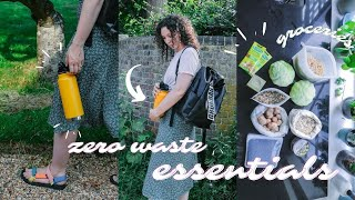 What's in my ZERO WASTE bag   & grocery haul