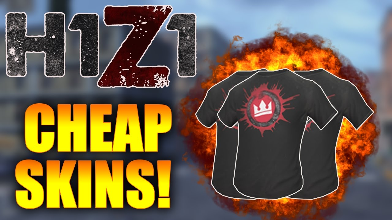 these skins should be free top 5 cheapest skins in h1z1 h1z1 best