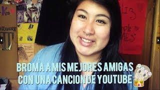 Probando a mis mejores amigas con una canción de Youtube *SE EMOCIONAN* |Tutoriales Kath thumbnail