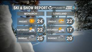 Ski report: 5 feet of snow in the mountains this week