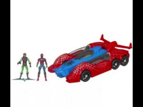 voiture jouet marvel hasbro amazing spiderman all mission. Black Bedroom Furniture Sets. Home Design Ideas