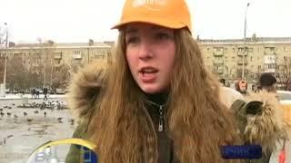 Флешмоб против гендерного насилия прошел в Славянске