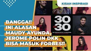 Masuk Forbes 30 Under 30! Kok Maudy Ayunda dan Jerome Polin Bisa Masuk?!