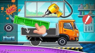Truck games - build a house 🏡 car wash - Android Gameplay #2 screenshot 3